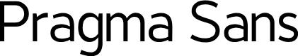 Preview image for Pragma Sans Font