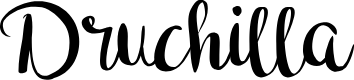 Preview image for Druchilla Font