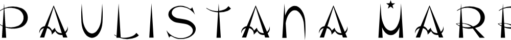 Preview image for Paulistana Marrocos Regular Font