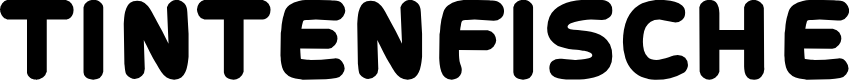 Preview image for Tintenfische Font
