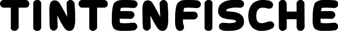 Tintenfische font
