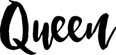 Preview image for Queen Font