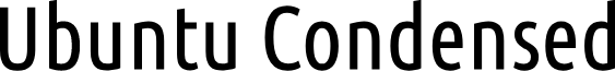 Ubuntu Condensed