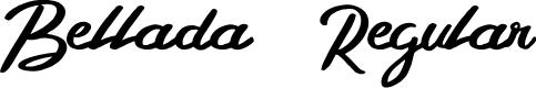 Preview image for Bellada  Regular Font