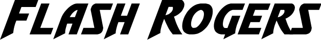 Preview image for Flash Rogers Expanded Italic