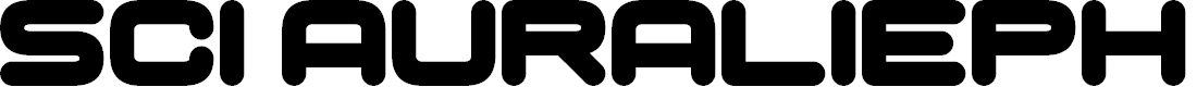 Preview image for Sci Auralieph Font