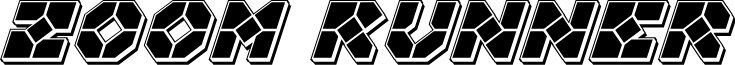 Zoom Runner Punch Italic