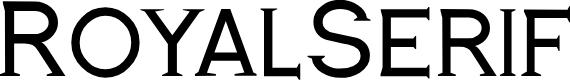 Preview image for RoyalSerif Font