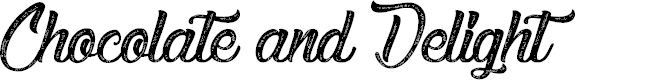 Preview image for Chocolate and Delight Font