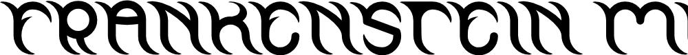 Preview image for FRANKENSTEIN MONSTER Font