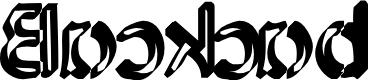 Preview image for Backcab Original Font