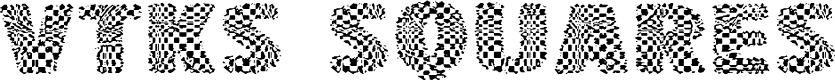 Preview image for vtks squares Font