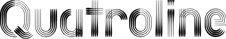Preview image for Quatroline Font