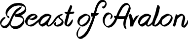 Preview image for Beast of Avalon Font
