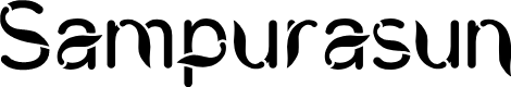 Preview image for CWCiungWanara-Sejati Font