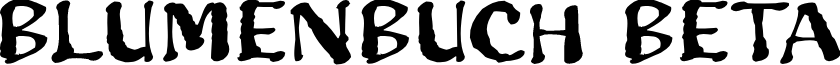 Blumenbuch Beta