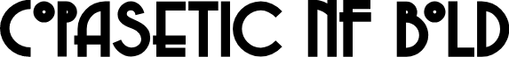 Copasetic NF Bold