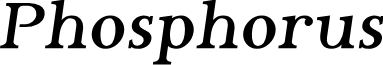 Phosphorus Bromide
