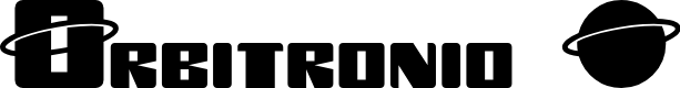 Preview image for Orbitronio Font
