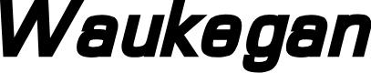 Preview image for Waukegan LDO Black Oblique