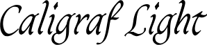 CaligrafLightPERSONALUSE