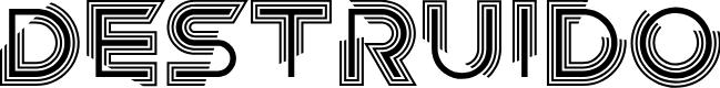 Preview image for Destruido Font