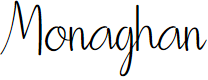 Preview image for Monaghan Font