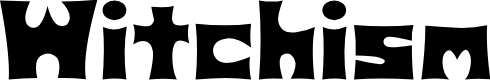 Preview image for D3 Witchism Font