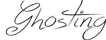 Preview image for Ghosting Font