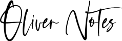 Preview image for Oliver Notes Font