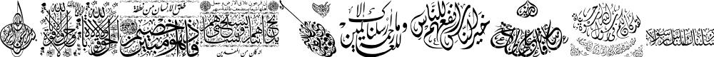 Preview image for Aayat Quraan_043 Font