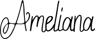 Preview image for Ameliana Font