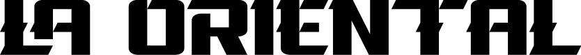 Preview image for La Oriental Font