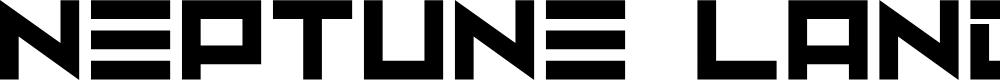 Preview image for Neptune Lander Font