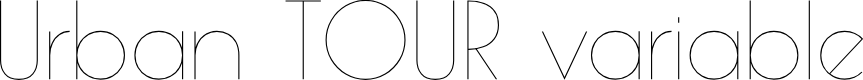 Preview image for Urban TOUR variable Font