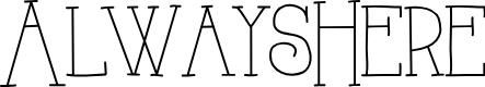 Preview image for AlwaysHere Font