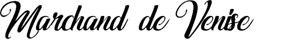 Preview image for Marchand de Venise-Italic Font