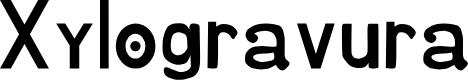 Preview image for Xylogravura Font