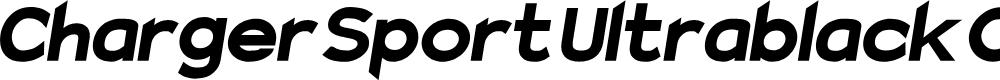 Preview image for Charger Sport Ultrablack Oblique