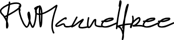 Preview image for PWManuelfree Font