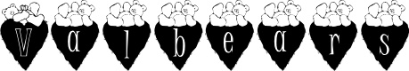 Preview image for Valbears_kg Font