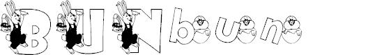 Preview image for KG BUNBUN Font