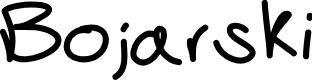 Preview image for Bojarski Font