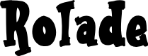 Preview image for Rolade Font
