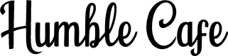 Preview image for Humble Cafe Font