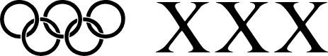 Preview image for OLYMPIAD XXX Font