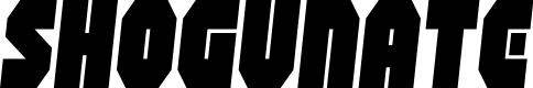 Preview image for Shogunate Semi-Italic
