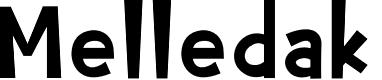 Preview image for Melledak Font