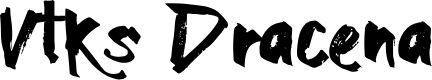 Preview image for Vtks Dracena Font