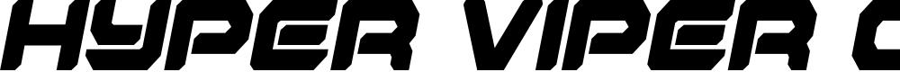 Preview image for Hyper Viper Condensed SemiItal